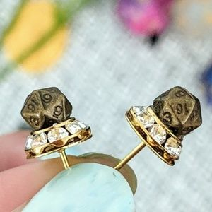 Jewelry - Dungeons and Dragons D20 Earring Studs